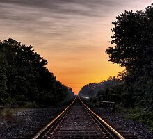 Rails to Dawn by Kyle Hudak