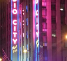 Radio City Music Hall Sticker