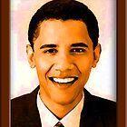 Barack Obama Color by ShopBarack