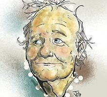 Bill Murray Portrait by grosvenordesign