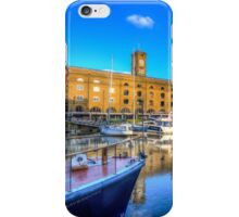St Katherines Dock London iPhone Case/Skin