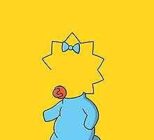 """Maggie Simpson, """"Whatcha Wearing"""" by SpectreSpark"""
