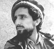 AHMAD SHAH MASSOUD by Ben Pendleton