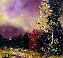 autumn landscape  by calimero