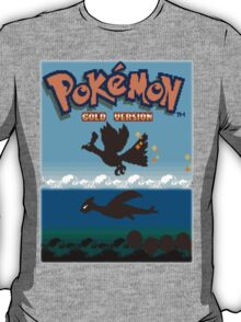 Pokemon Gold and Silver T-Shirt