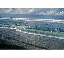 Spring Tide 1 at Newcastle Baths Photographic Print