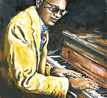 Study of Ray Charles by Robin (Rob) Pelton