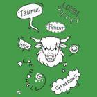 Taurus by Nikita Horridge