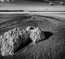 White Park Bay Exposed by Nigel R Bell