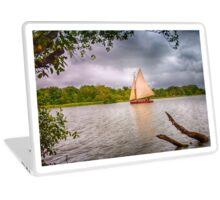 Sailing on the Broads Laptop Skin