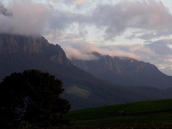 photoj Tas Mt Roland Sunrise by photoj