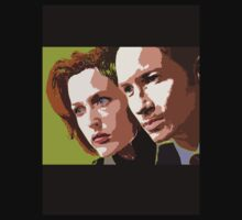 Mulder and Scully by emma schmitt