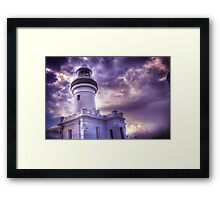 Byron Lighthouse HDR Framed Print