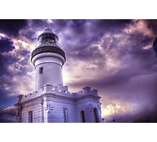 Byron Lighthouse HDR Photographic Print