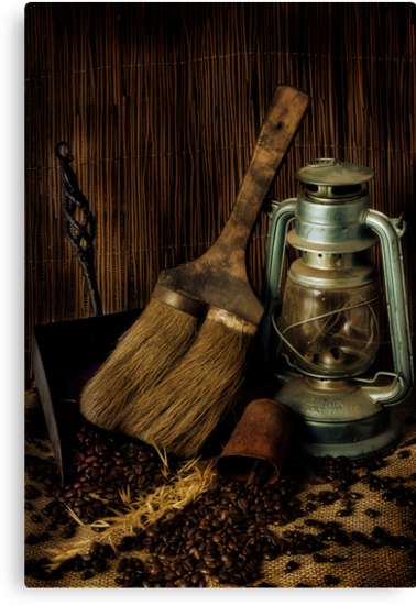 Dustpan & Broom by Samantha Cole-Surjan
