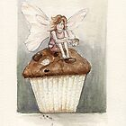 Fairy cake with colour by Tracey-Anne Pryke