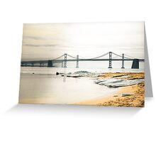 Bridge Over the Bay Greeting Card
