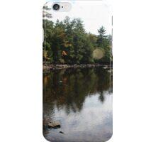 Drained Suncook River iPhone Case/Skin
