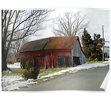 Morrisonville Barn Poster