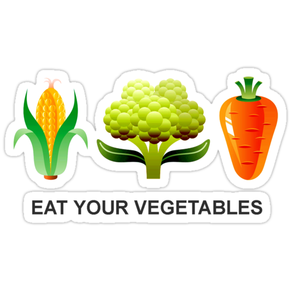 Eat Your Vegetables by Blahzeedee