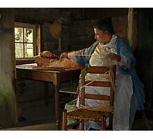 the hat maker Photographic Print