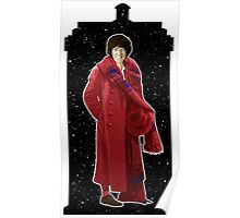Fourth Doctor and The TARDIS Poster