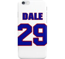 National football player Dale Messer jersey 29 iPhone Case/Skin