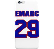 National football player DeMarco Murray jersey 29 iPhone Case/Skin