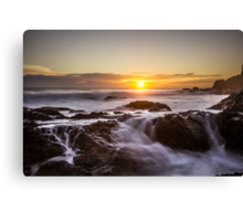 Flowing Fire... Canvas Print