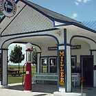 ODELL SERVICE STATION by Paul Butler