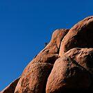 Rock climber by Alex Preiss