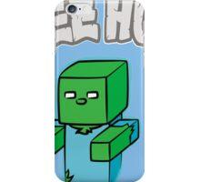 "Minecraft Zombie | ""Free Hugs"" iPhone Case/Skin"
