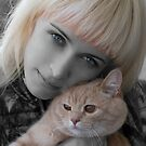 Girl&Cat by VioDeSign