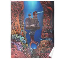Watchman of Eternity - part 2 - Baba Yaga nested inside the body of Grauer Mann Poster