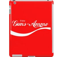 Enjoy Guns & Ammo? iPad Case/Skin