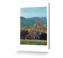 View of Table Mountains and Bystrzyckie Mountains Greeting Card