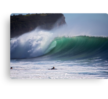 Warriewood beach NSW Canvas Print