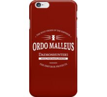 The Ordo Malleus iPhone Case/Skin