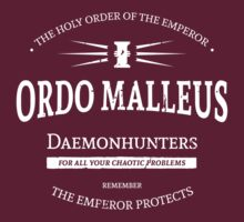 The Ordo Malleus by moombax
