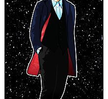 Twelfth Doctor and The TARDIS by Chris Singley