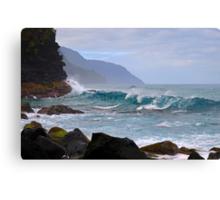 Na Pali Coast in Kauai, Hawaii Canvas Print