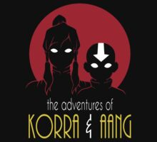 The Adventures of Korra & Aang by cattocc