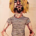 Kurt Cobain by James Money