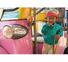 Thai child Photographic Print