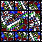 Stained Glass Abstract by myraj