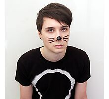 Dan Howell Twitter Icon Photographic Print