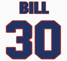 National football player Bill Ring jersey 30 by imsport
