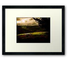 Blackwood Campsite Vista Framed Print