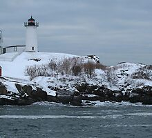 Cape Neddick Lighthouse by John Linton