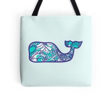 Lilly Pulitzer Whale Montauk Summer Tote Bag